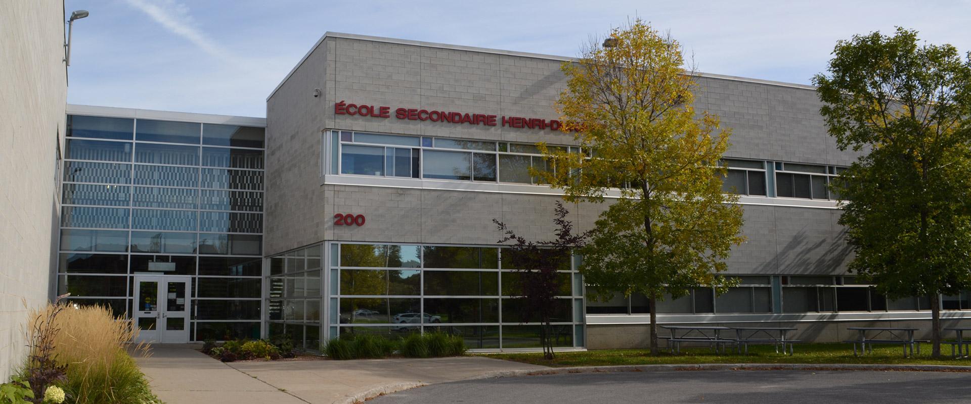 École secondaire Henri-Dunant | CSSMI